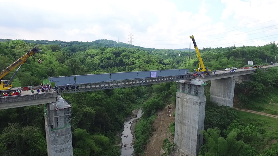 Sabang Bridge Delivery and Installation Project