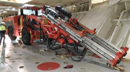 Sandvik Mining Equipment Project