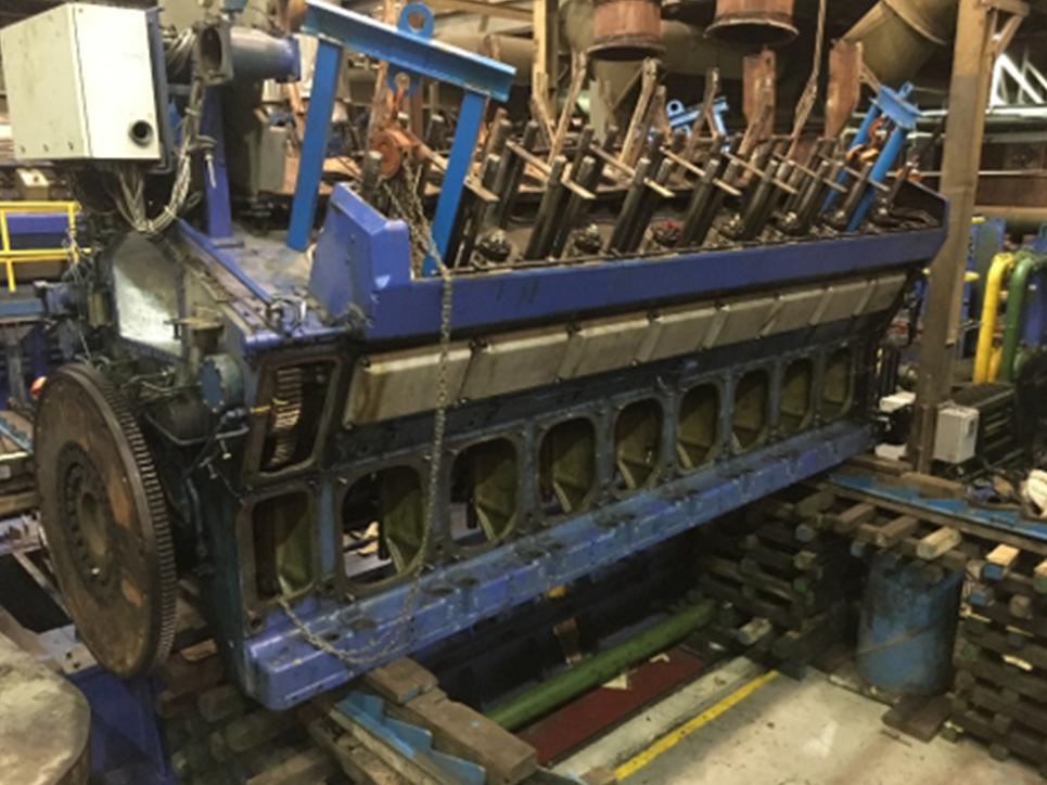 Wärtsilä Diesel Engine Project
