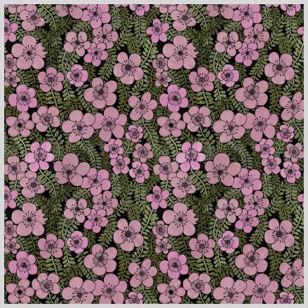 Twiny Flowers rosa