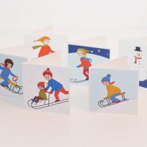 Paketkort vinter