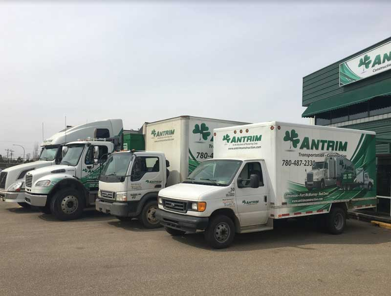 Antrim Construction Edmonton office