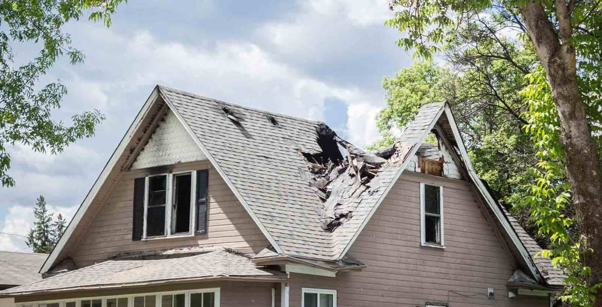 Storm damage to your home - we can help!