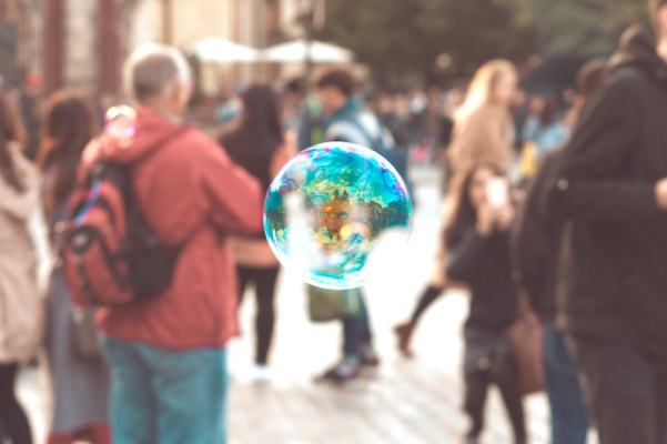 colorful-bubble-with-reflection-of-prague-buildings-picjumbo-com