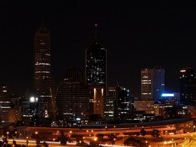Earth Hour in Perth