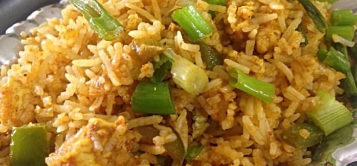 Paneer Fried Rice