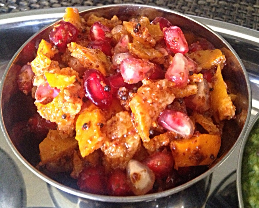 Orange Peel and Pomegranate Pickle