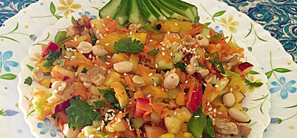 Fruity Vegetable Salad