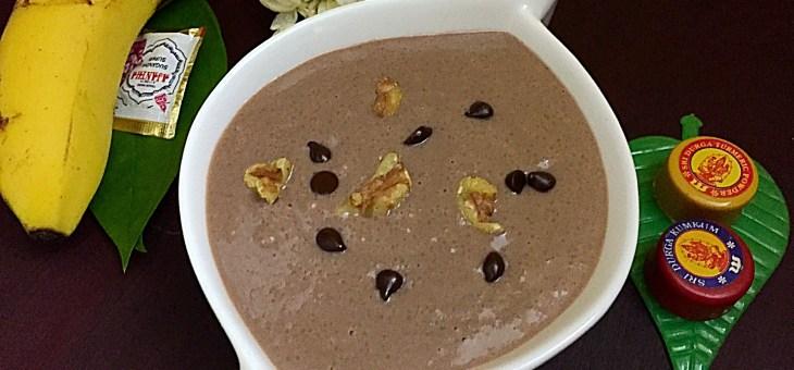 Chocolate Rava Payasam