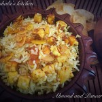 Almond and Paneer Rice