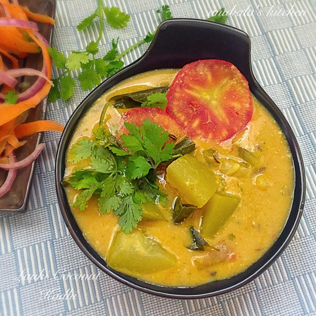 Lauki Coconut Kadhi
