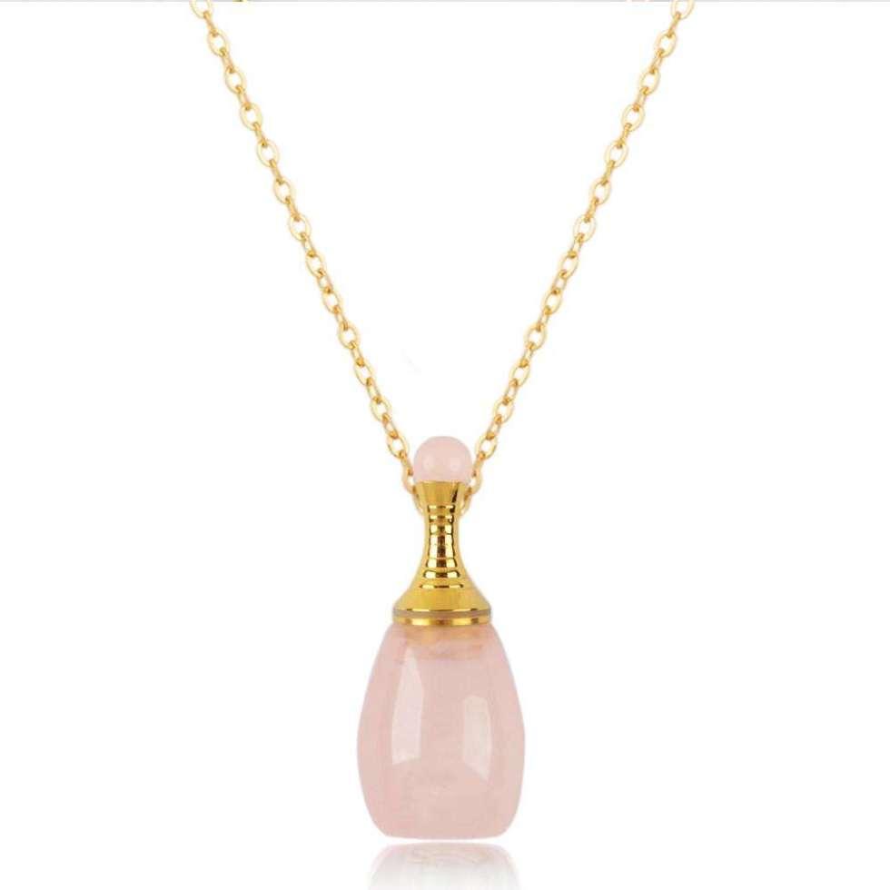Aroma-bijoux : Victoria - Rose Quartz