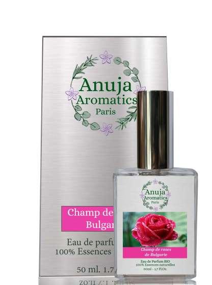 Boite Champ de roses de Bulgarie 50 ml