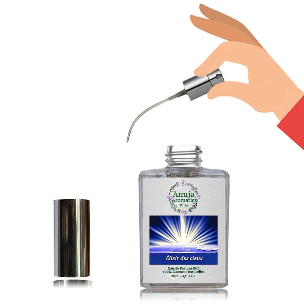 Flacon vaporisateur rechargeable