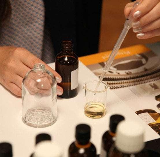 Fabrication parfum naturel