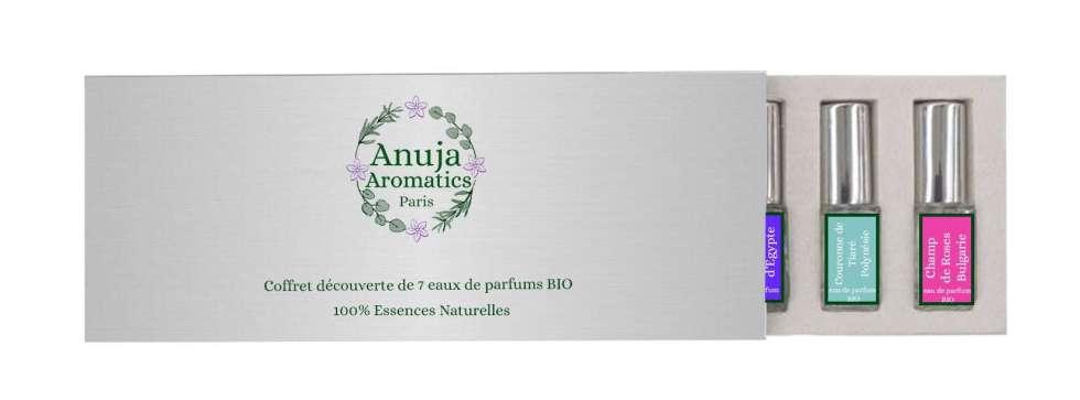Coffret Découverte 7 Eaux de Parfums Naturels