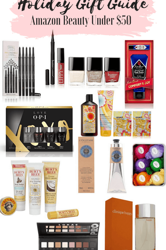 Gift Guide: Amazon Beauty Gifts Under $50