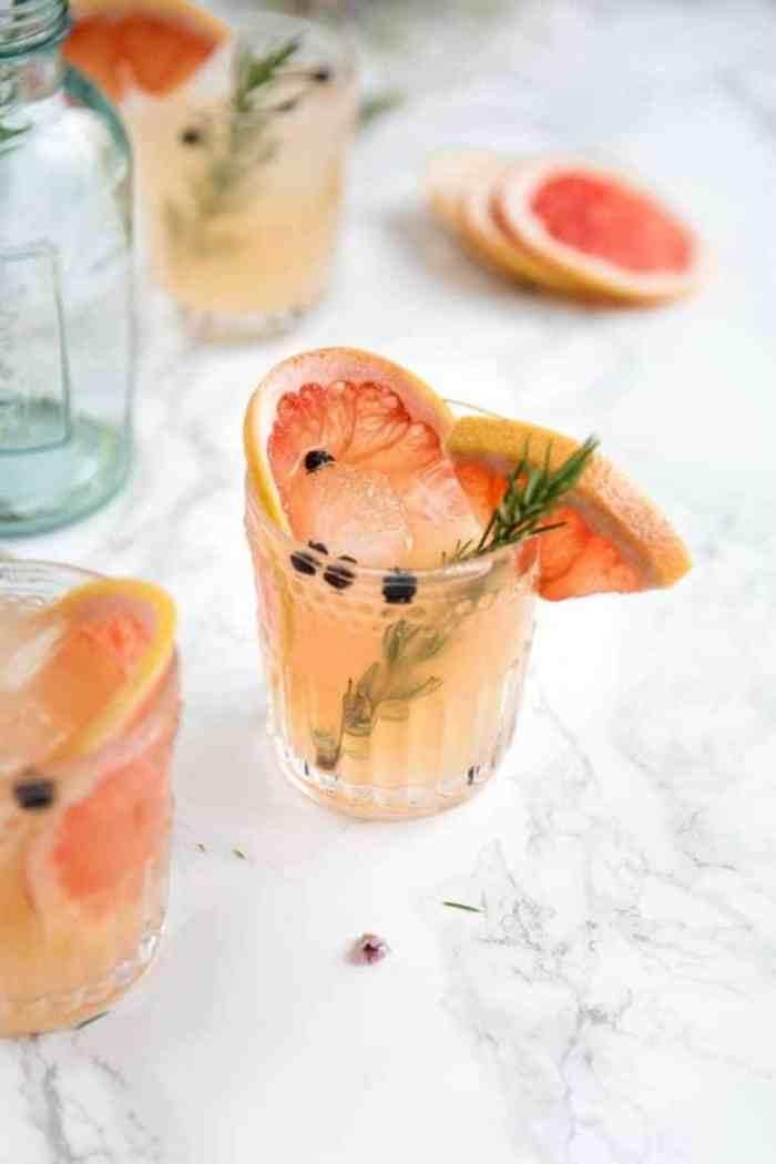 Grapefruit Cocktails