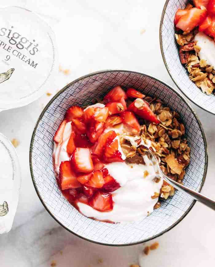 yogurt bowl recipes