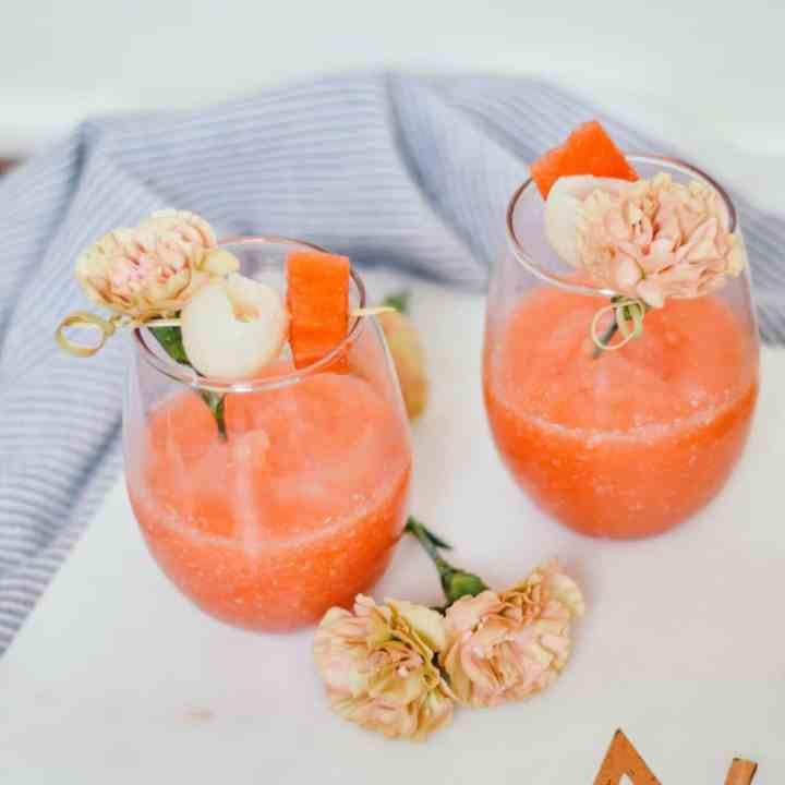 Easiest Frosé Recipe (Frozen Rosé)