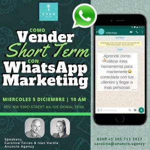 anuncio Taller WhatsApp