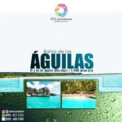 Bahia de las Aguilas 15 y 16 de agosto