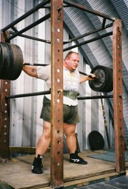 900 lb. Squat