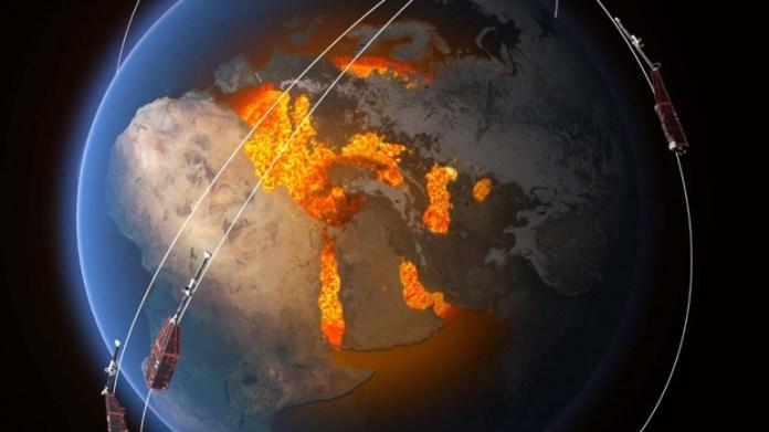 यूरोपीय अंतरिक्ष एजेंसी का झुंड नक्षत्र