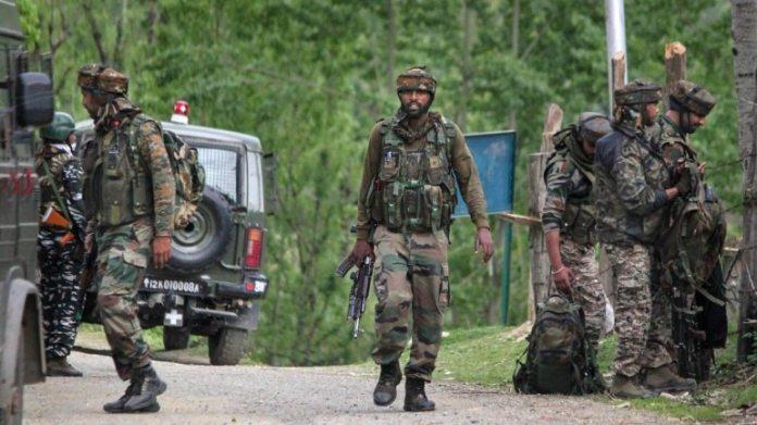 कश्मीर का एनकाउंटर