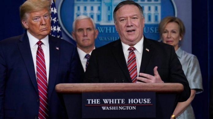 अमेरिकी विदेश मंत्री माइक पोम्पिओ की फाइल फोटो