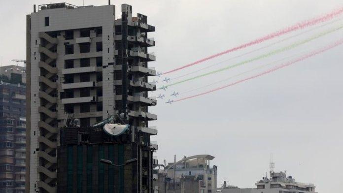 फ्रांसीसी राष्ट्रपति इमैनुएल मैक्रॉन ने लेबनान का दौरा किया, (1 सितंबर)