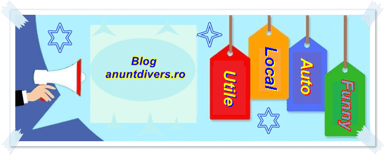 Despre Blog AnuntDivers