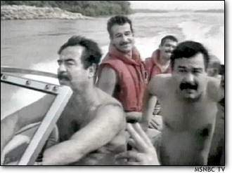 Image result for saddam hussein doubles pictures