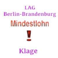 Klage auf Mindestlohn - Arbeitsgericht Berlin