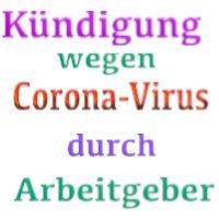 Corona-Virus Kündigung