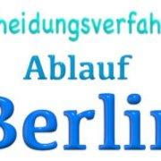 Wie läuft in Berlin eine Scheidung ab?