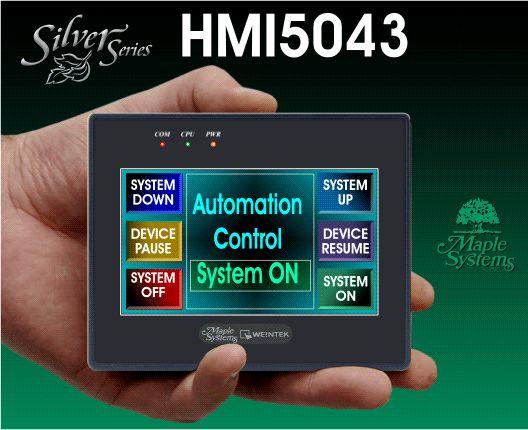 COMPACT Graphic HMI - Maple Systems