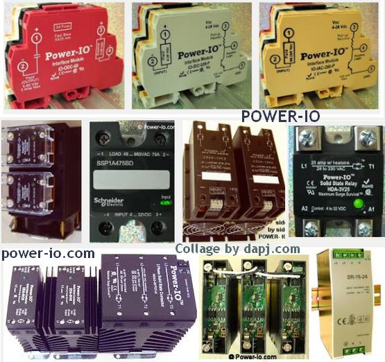 POWER-IO - Custom and Standard Power Switching
