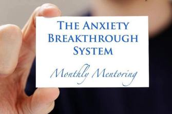 anxiety breakthrough