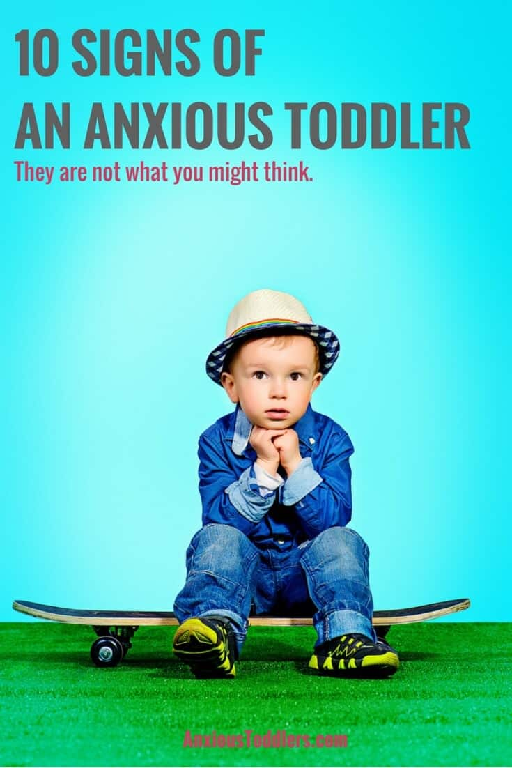 Early warning signs of anxiety can be seen in toddlers - if you know what to 792702433