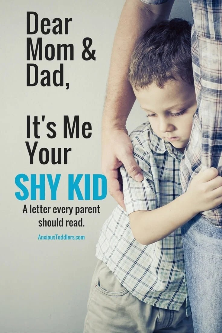 If you have a shy kid you have to read this letter.