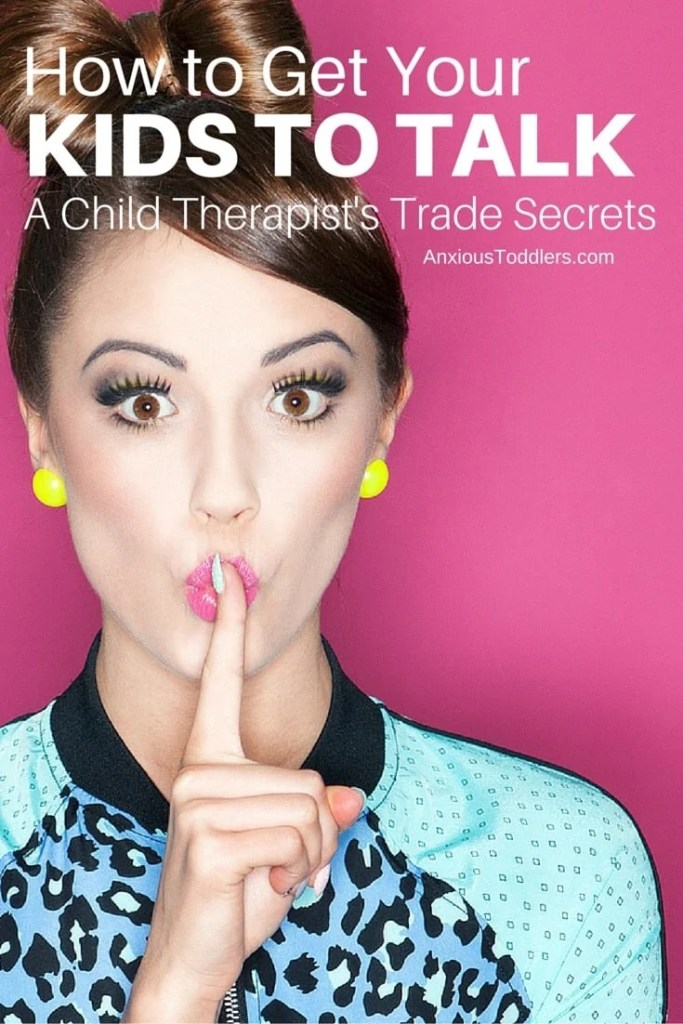Do you struggle to get your kids to talk? Learn trade secrets from a child therapist.