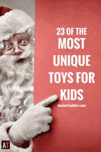 Looking for something different this holiday season? I have found 23 of the most unique toys for kids!