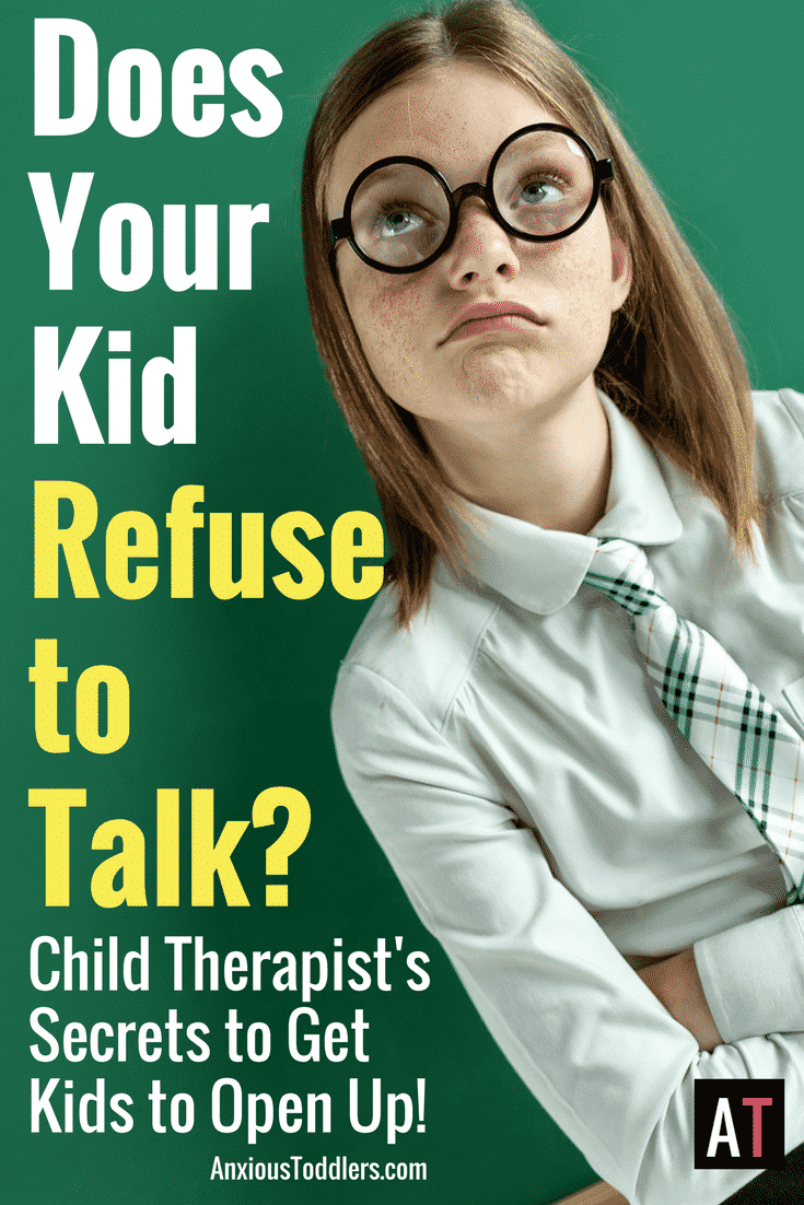 For some kids it is like pulling teeth to get them to open up and talk! Here are my child therapist trade secrets!