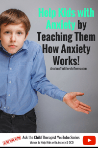 Searching for ways to help kids with anxiety? Kids need to understand anxiety first. That's why I created this YouTube video just for kids, to help them better understand child anxiety.