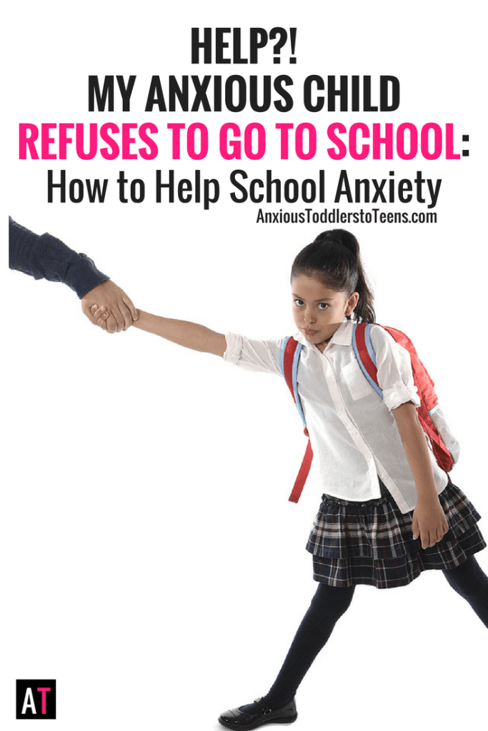When an anxious child refuses to go to school there is often a bigger anxiety issue behind their school refusal. Learn what it is and how to help their school anxiety.