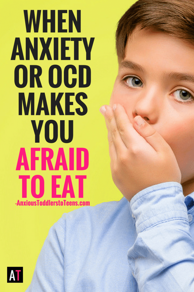 Anxiety and OCD can make kids afraid to eat. Learn how this happens and what parents can do to help their kids through this struggle.