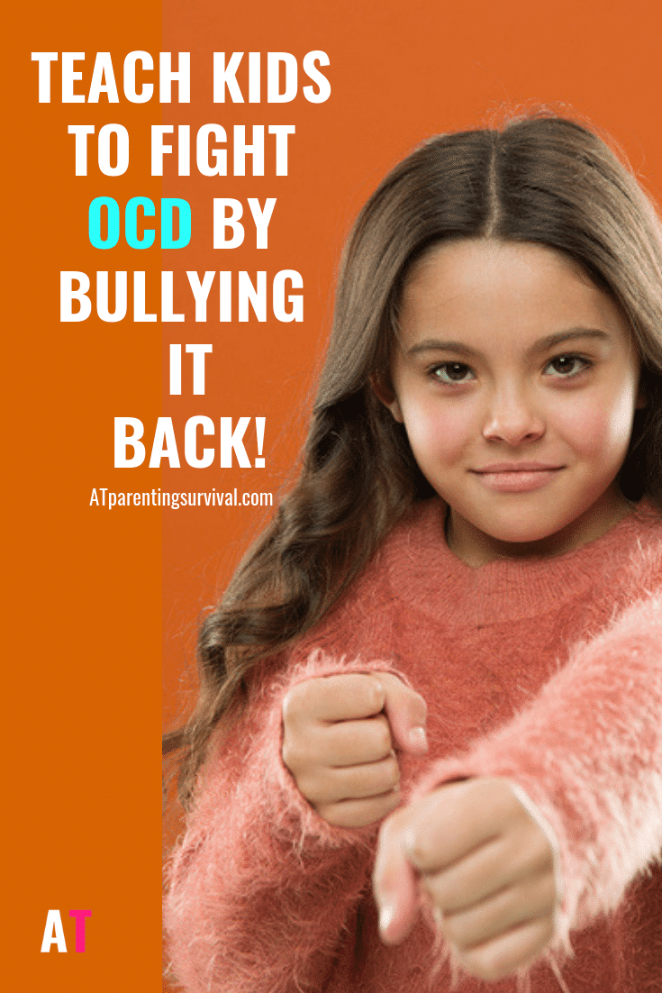 OCD is a big bully! In this kids Youtube video I teach kids to fight OCD by bullying it back.