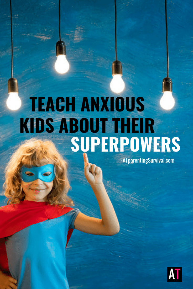 Having anxiety can suck, but it comes with some pretty cool superpowers. I tell kids what those superpowers are in this latest kids Youtube video.