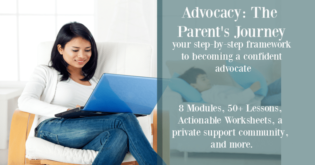 Advocacy - the Parents Journey
